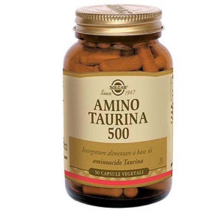 Amino Taurina 500 Solgar 50 Capsule Vegetali
