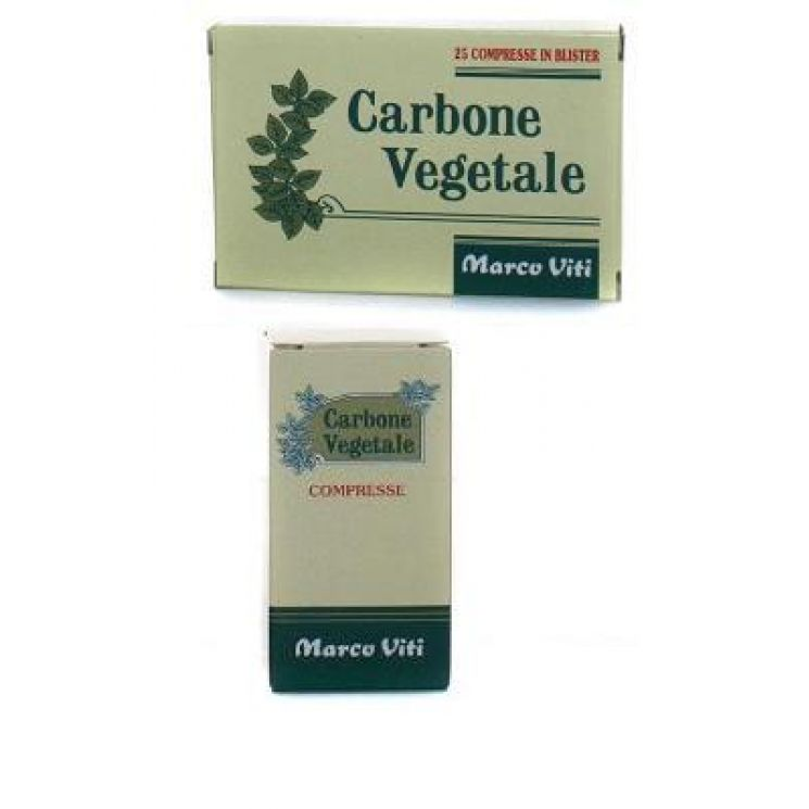 Carbone Vegetale 75 Compresse