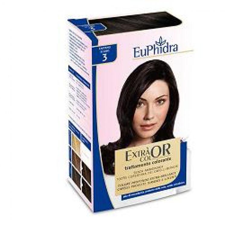Euphidra Extra Color Tintura Per Capelli Colore 5 Castano Chiaro ... 59b5905b618a