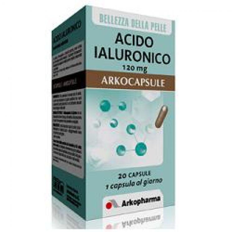Acido Ialuronico Arkocapsule 20 Capsule