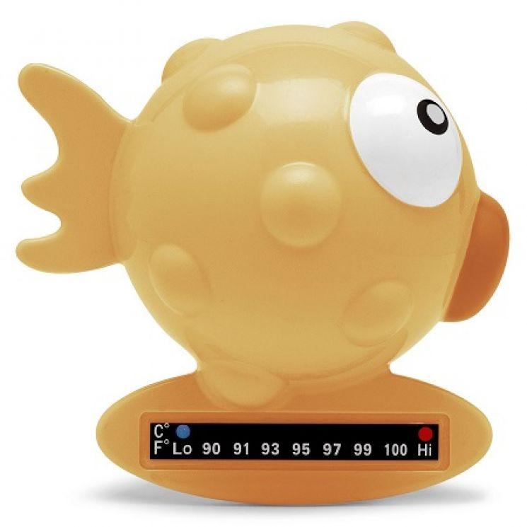 Chicco Termometro Bagnetto Pesce Arancione