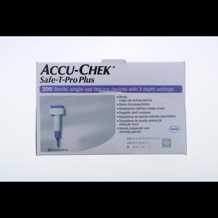 Accu-Chek Safe T-Pro Plus 200 Pezzi