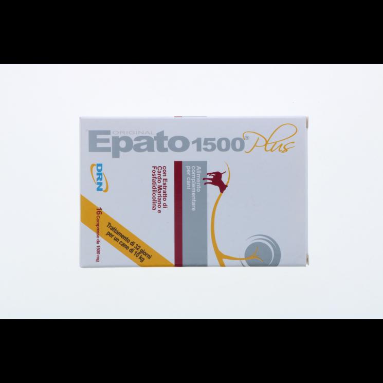 EPATO 1500 PLUS CANE 16 COMPRESSE