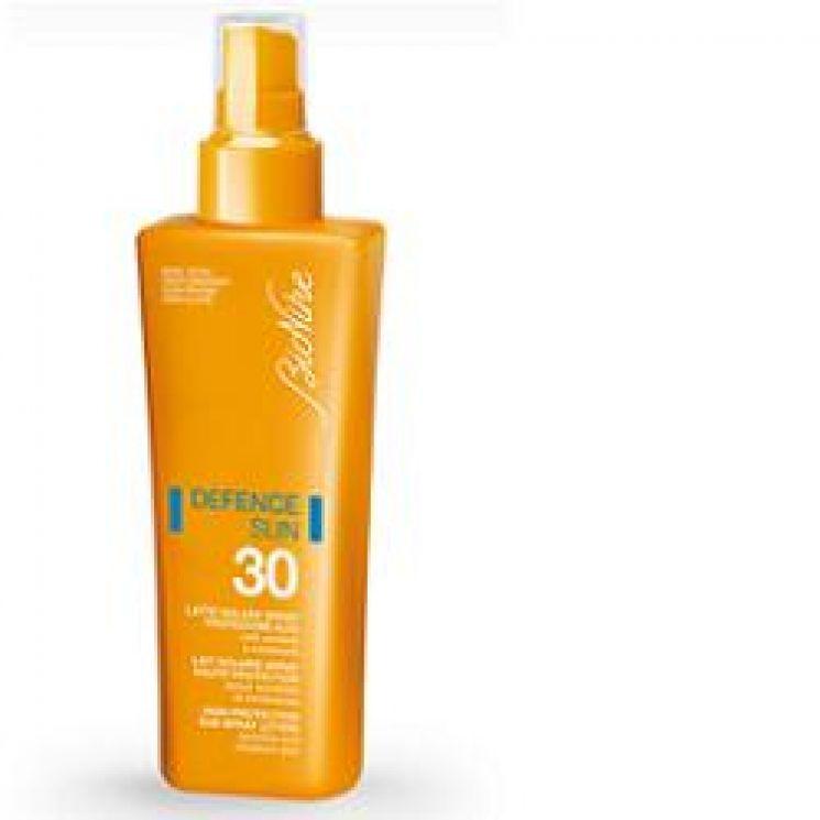 Defence Sun Latte Solare Spray SPF 30 Protezione Alta 200 ml
