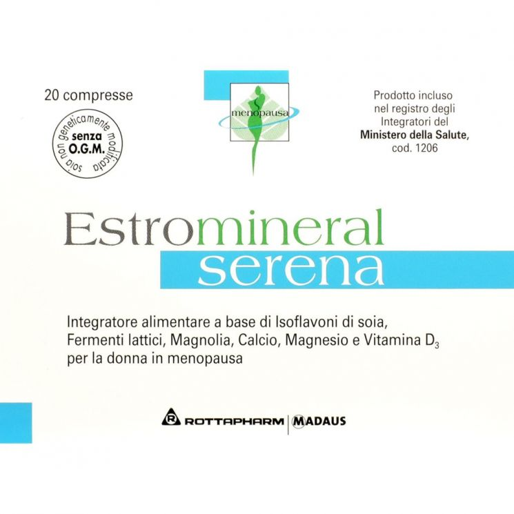 Estromineral Serena 20 Compresse