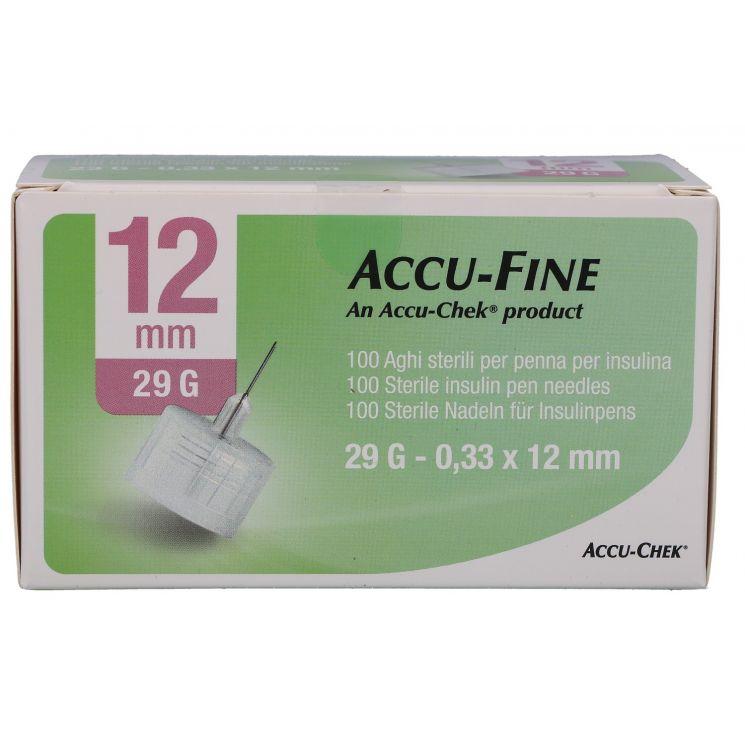 AGO ACCU-FINE G29 12MM 100 PEZZI