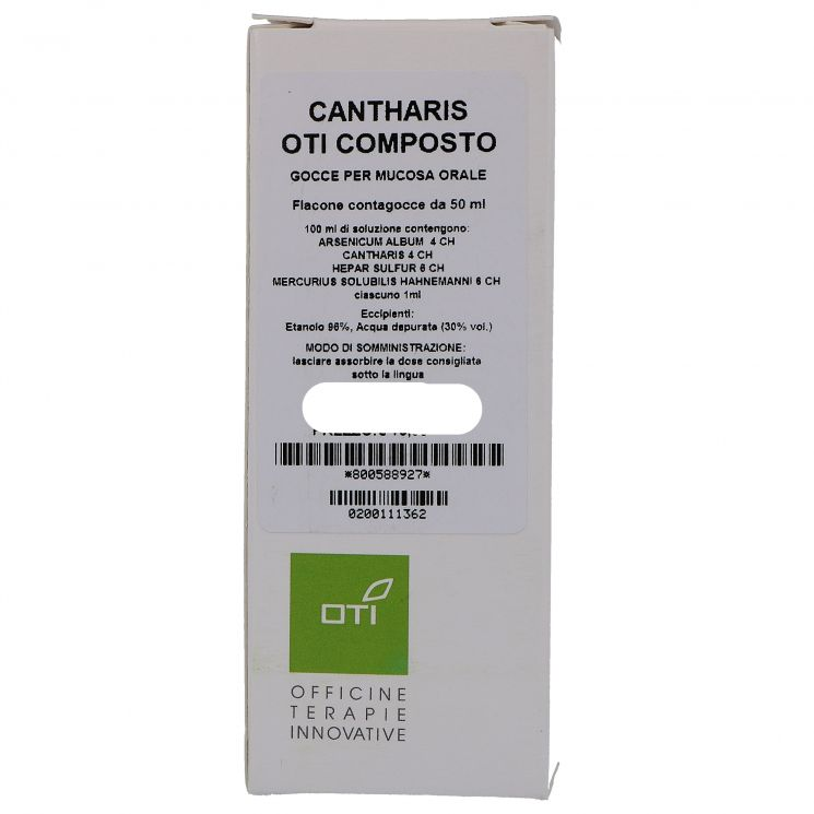 CANTHARIS OTI COMPOSITUM GOCCE 50ML