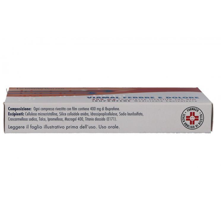 Viamal Febbre E Dolore 12 Compresse 400 mg - Farmacia di..
