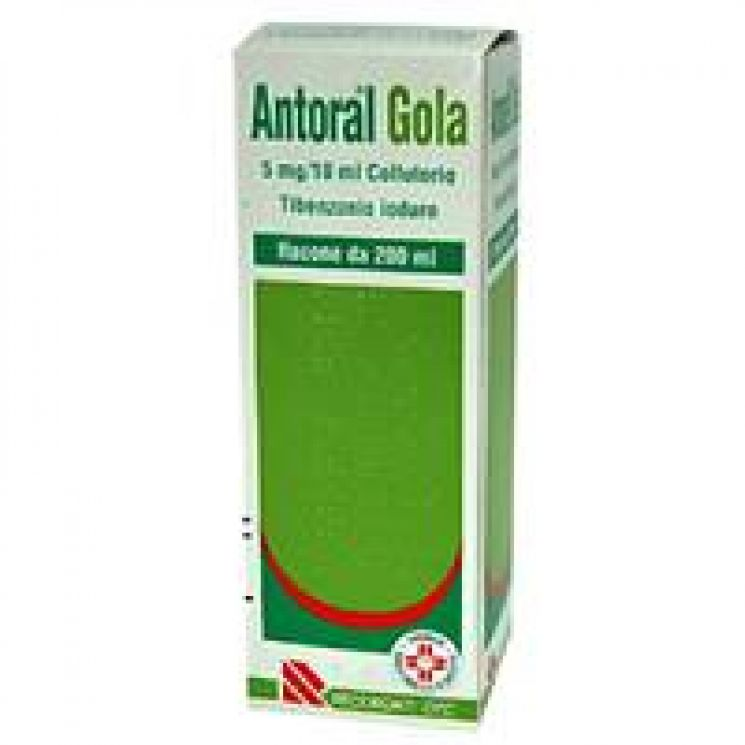 Antoral Gola Collutorio 200 ml 023497213