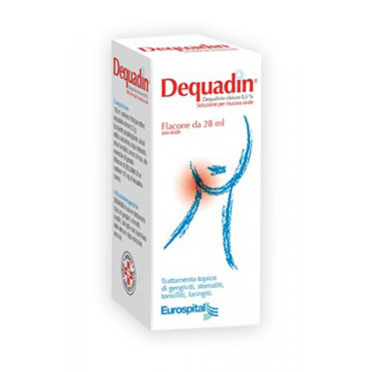 Dequadin Soluzione Per Mucosa Orale 28 ml 012235026