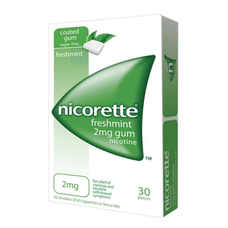 Nicorette 30 Gomme masticabili 2mg