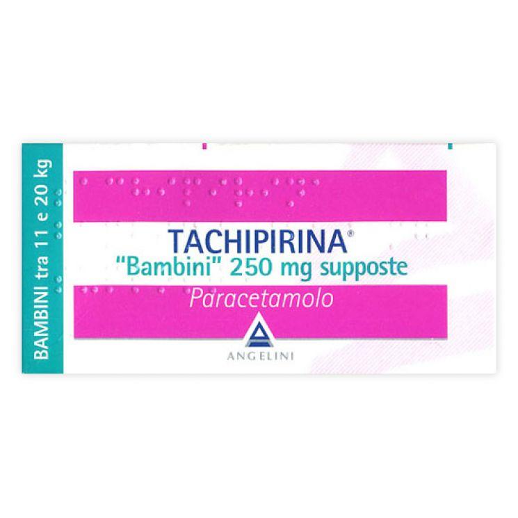 Tachipirina Bambini 10 Supposte 250 mg 012745042