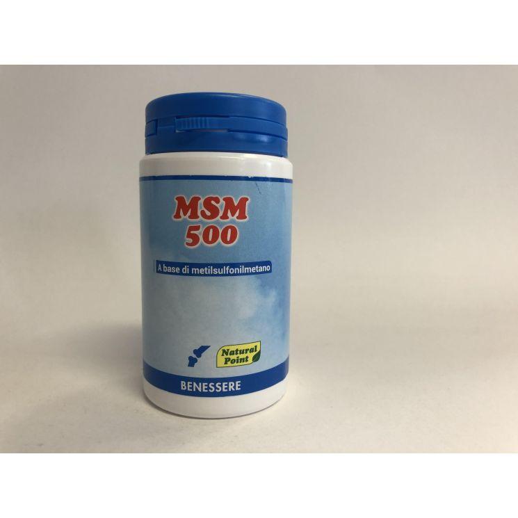 Msm 500 100 Capsule Vegetali Acquista Su Farmaciadifiducia Com