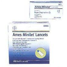AMES MINILET LANCETTE 25 PEZZI Lancette pungidito