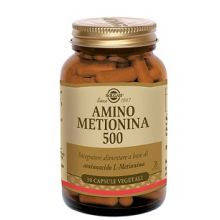 AMINO METIONINA 500 30 CAPSULE VEGETALI Altri alimenti