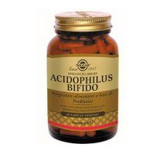 Acidophilus Bifido Solgar 60 capsule vegetali Fermenti lattici