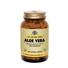 Aloe Vera Solgar 100 Capsule Vegetali Aloe vera da bere