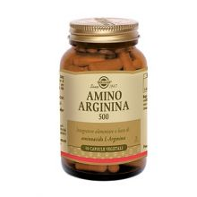 Amino Arginina 500 50 Capsule Vegetali Disfunzione erettile