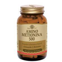 Amino Metionina 500 Solgar 30 Capsule Vegetali Altri alimenti