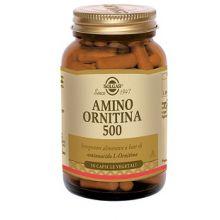 Amino Ornitina 500 Solgar 50 Capsule Vegetali Proteine e aminoacidi