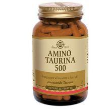 Amino Taurina 500 Solgar 50 Capsule Vegetali Polivalenti e altri