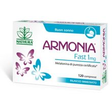 Armonia Fast Melatonina 1mg 120 Compresse Calmanti e sonno