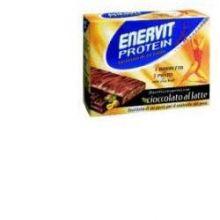 ENERVIT PROTEIN CIOCCOLATO 6 BARRETTE DA 46G Alimenti sostitutivi