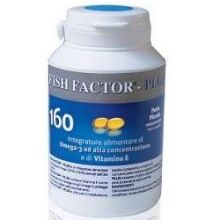 Fish Factor Plus 160 Perle Piccole Omega 3, 6 e 9