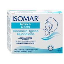 ISOMAR NASO E OCCHI SOLUZIONE ISOTONICA 24 FLACONCINI DA 5ML Lavaggi nasali