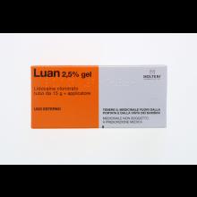 LUAN*GEL 15G 2,5% +APPLICATORE Pomate, cerotti, garze e spray dermatologici