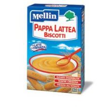 MELLIN PAPPA LATTE BISC250G NF Pappa lattea e farina lattea