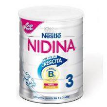 NIDINA CRESCITA 3 POLVERE 800G Latte per bambini
