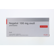 Negatol 7 Ovuli vaginali con applicatore 0,1g Capsule e ovuli