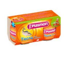 PLASMON OMOG TROTA/VERDURE 80GX2P Omogeneizzati di pesce