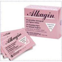 ALKAGIN SALVIETTINE MONOUSO 10 PEZZI Altri prodotti per il corpo
