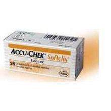 Accu-Chek Softclix 25 Lancette Lancette pungidito