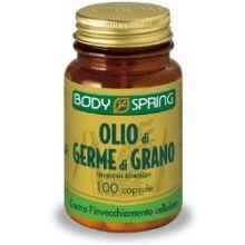 BODY SPRING OLIO DI GERME DI GRANO 100 CAPSULE Anti age