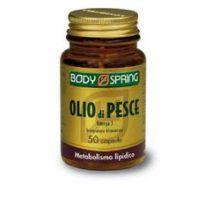 BODY SPRING OLIO DI PESCE OMEGA 3 50 CAPSULE Omega 3, 6 e 9