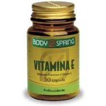 BODY SPRING VITAMINA E 50 CAPSULE Vitamina E