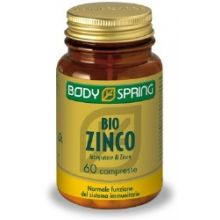 BODY SPRING ZINCO 60 COMPRESSE Vitamine