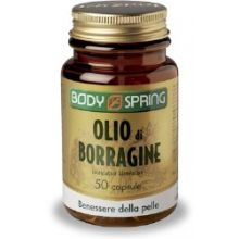Body Spring Olio Di Borragine 50 Capsule Integratori per la Pelle