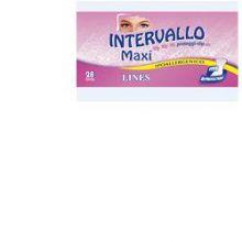 LINES INTERVALLO MAXI PROTEGGI SLIP 28 PEZZI Salvaslip