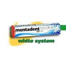 MENTADENT DENTIF WHITESYSTEM75 Dentifrici