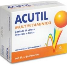 ACUTIL MULTIVITAMINICO 20 COMPRESSE EFFERVESCENTI Multivitaminici