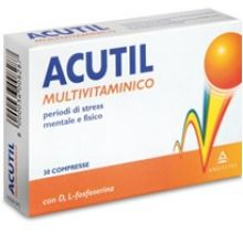 ACUTIL MULTIVITAMINICO 30 COMPRESSE Multivitaminici