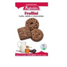 AGLUTEN FROLLINI LATTE MIELE CIOCCOLATO 200G Dolci senza glutine