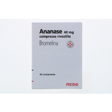 ANANASE*20 COMPRESSE RIVESTITE 40MG Altri disturbi