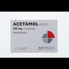 Acetamol Adulti 20 Compresse 500 mg Paracetamolo