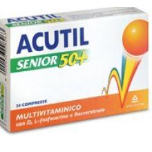 Acutil Multivitaminico Senior 50+ 24 compresse Multivitaminici