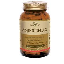Amino Relax Solgar 30 Capsule Vegetali Calmanti e sonno